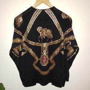 sweater Sweaters - Gold leaf sweater